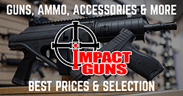 Impact Guns online gun store with guns, ammo, and accessories at discount prices
